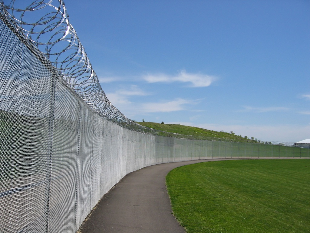 Prison Fence Photos