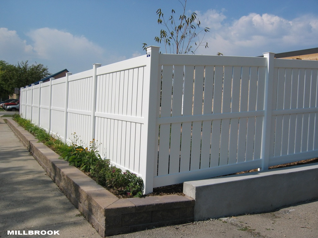 Semi Privacy Fence Photos