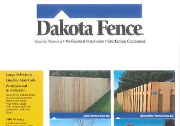 Dakota Fence Cedar
